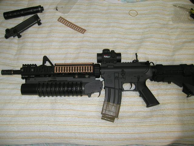 M4 アクセサリー装着