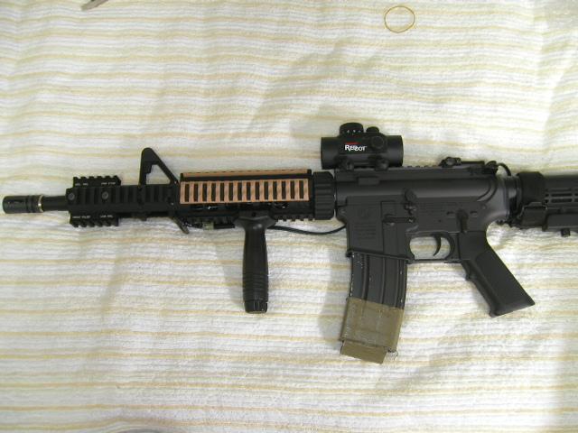 M4 アクセサリー装着2