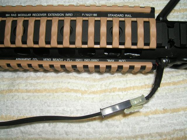 M4の配線加工2