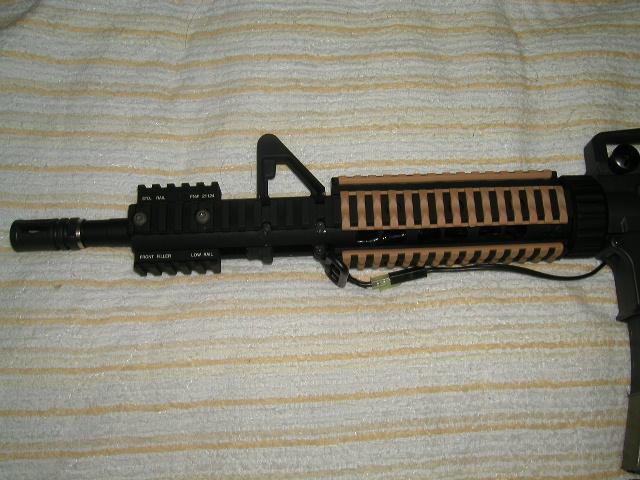 M4 MRE フロント部分
