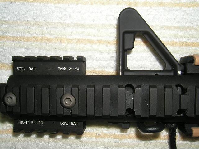 M4 MRE フロント部分拡大