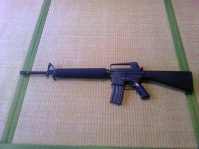 M16A2 30連マガジン装着