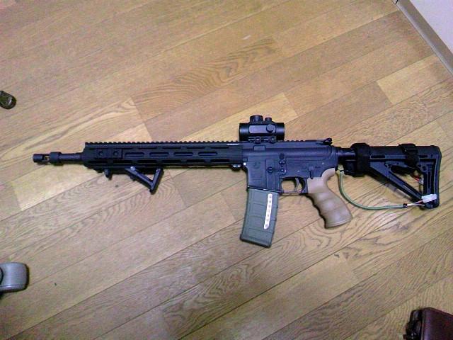 M4にP-MAGを装着した図
