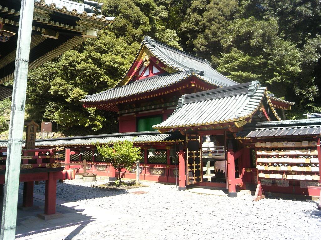 静岡 久能山東照宮 社殿入り口