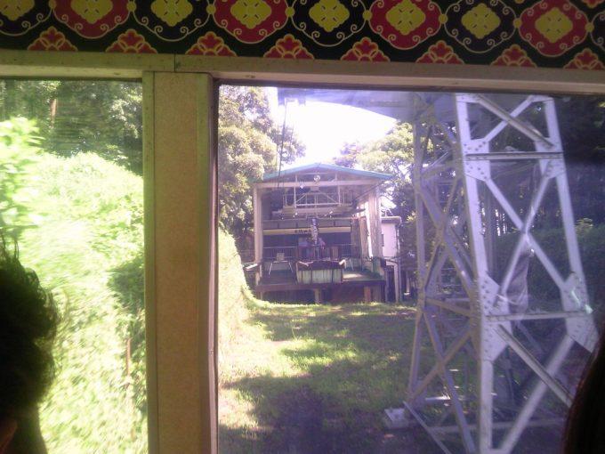 静岡 日本平ロープウェイ ロープウェイからの眺め5