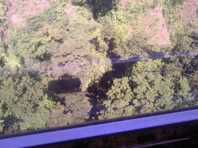 静岡 日本平ロープウェイ ロープウェイからの眺め3