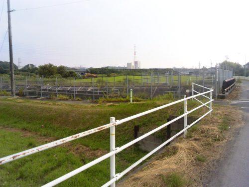 サイクリング 2015年8月9日 畑道2