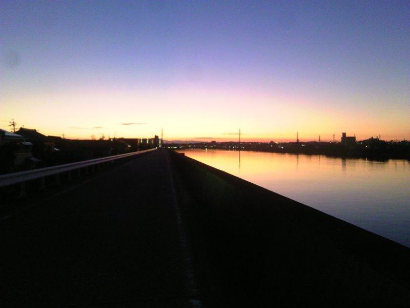 早朝サイクリング 2015年09月12日 2