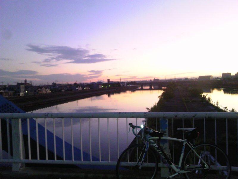 早朝サイクリング 2015年09月12日 3