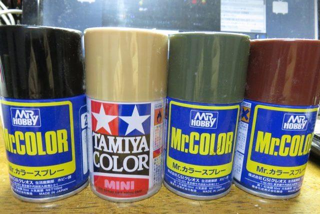 もってるラッカー塗料