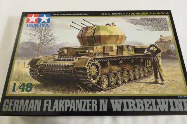 ドイツの対空戦車「ヴィルベルヴィント」のプラモデルを作ることにした