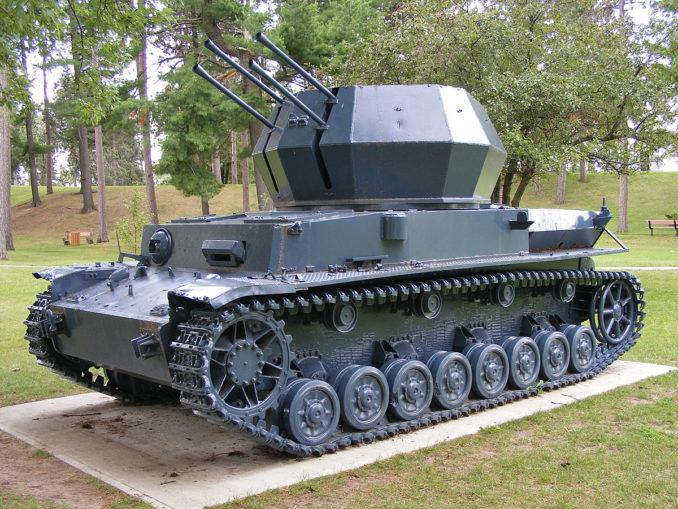 4号対空戦車 ヴィルベルヴィント