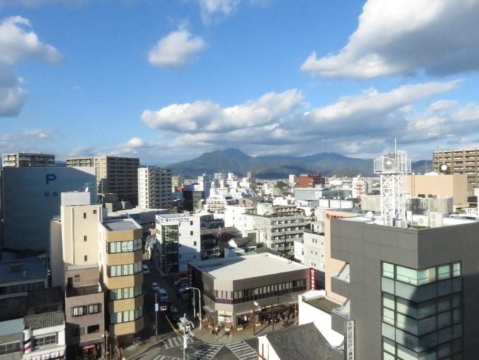 静岡旅日記 2015年12月30日 ホテルの窓からの景色