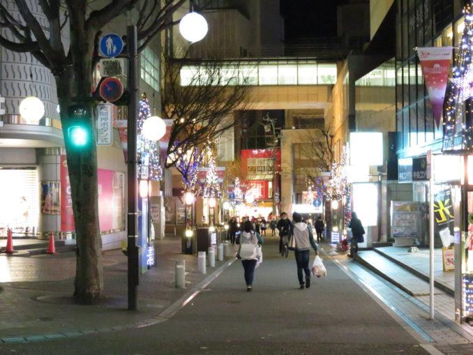 静岡旅日記 2015年12月31日 静岡市のイルミネーション2
