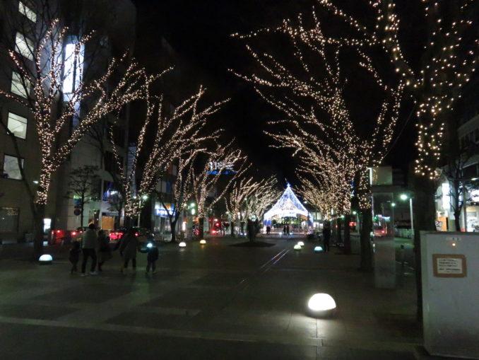 静岡旅日記 2015年12月31日 静岡市のイルミネーション3