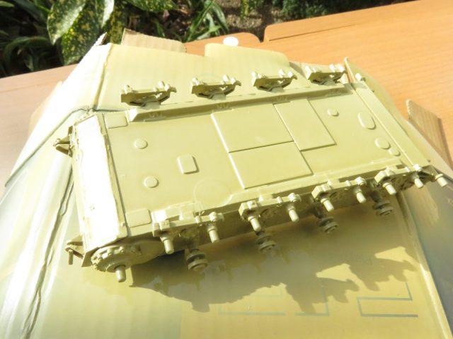 ヴィルベルヴィント 車体下部塗装