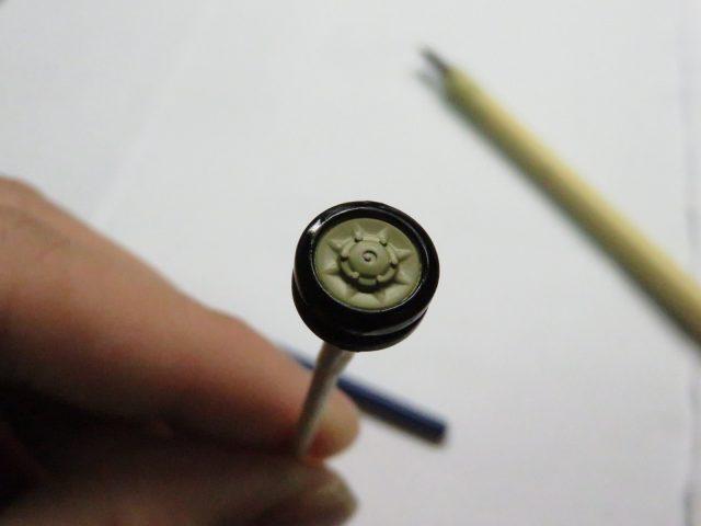 ヴィルベルヴィント 転輪 塗装2