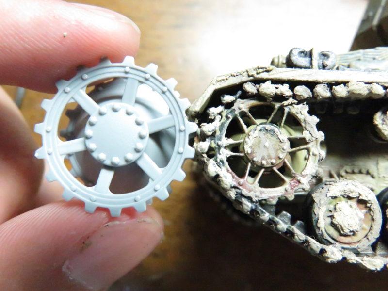 オストヴィント 起動輪の比較