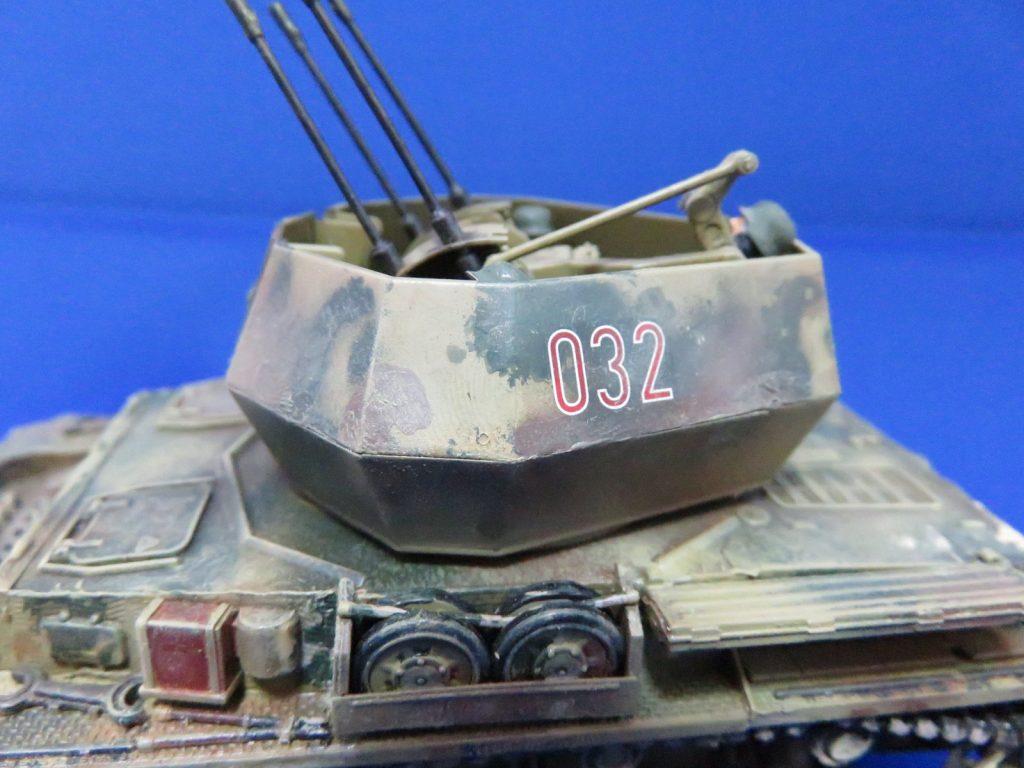 4号対空戦車 ヴィルベルヴィント 砲塔