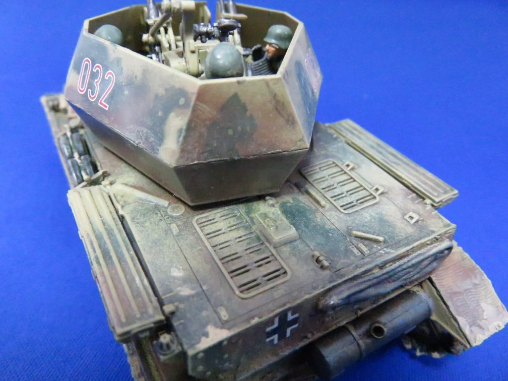 4号対空戦車 ヴィルベルヴィント 車体後部