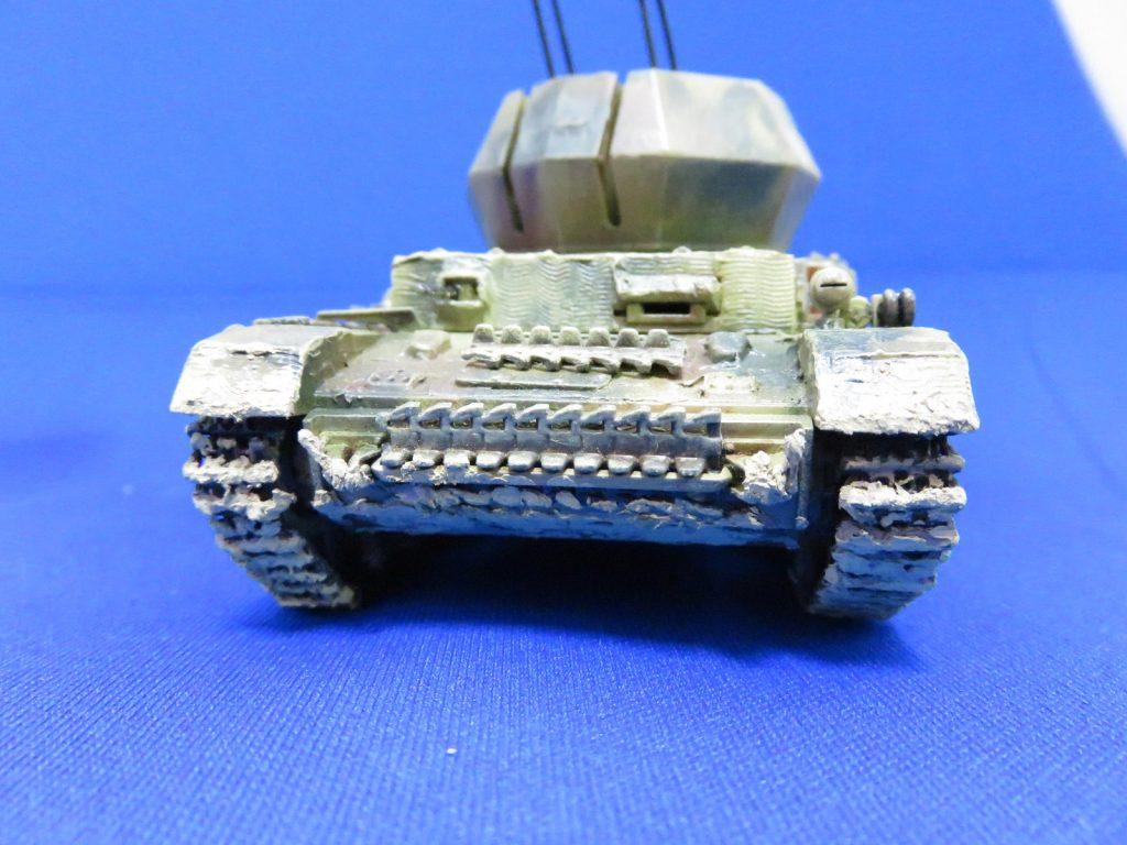 4号対空戦車 ヴィルベルヴィント 正面