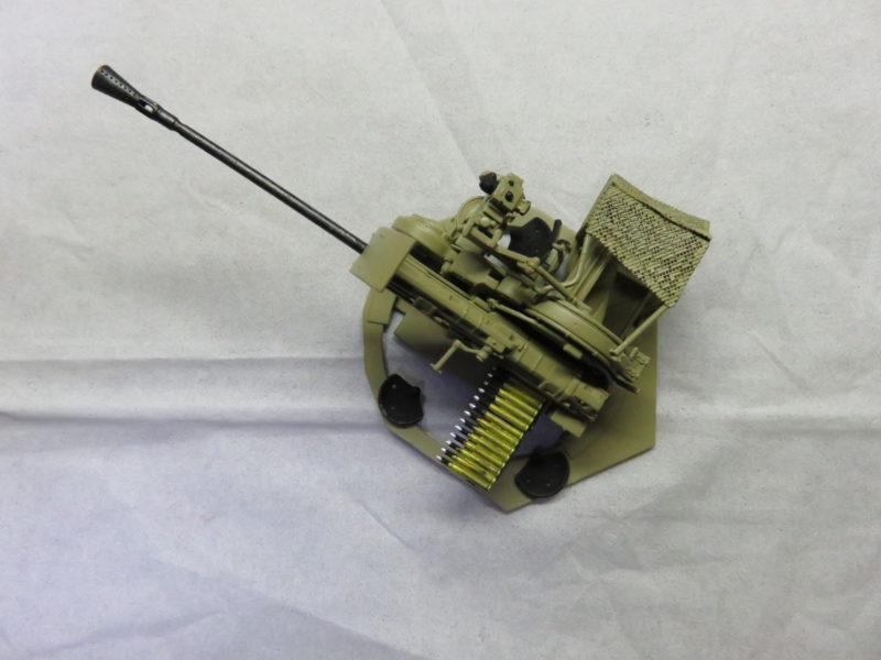 オストヴィント Flak43 基本塗装完了