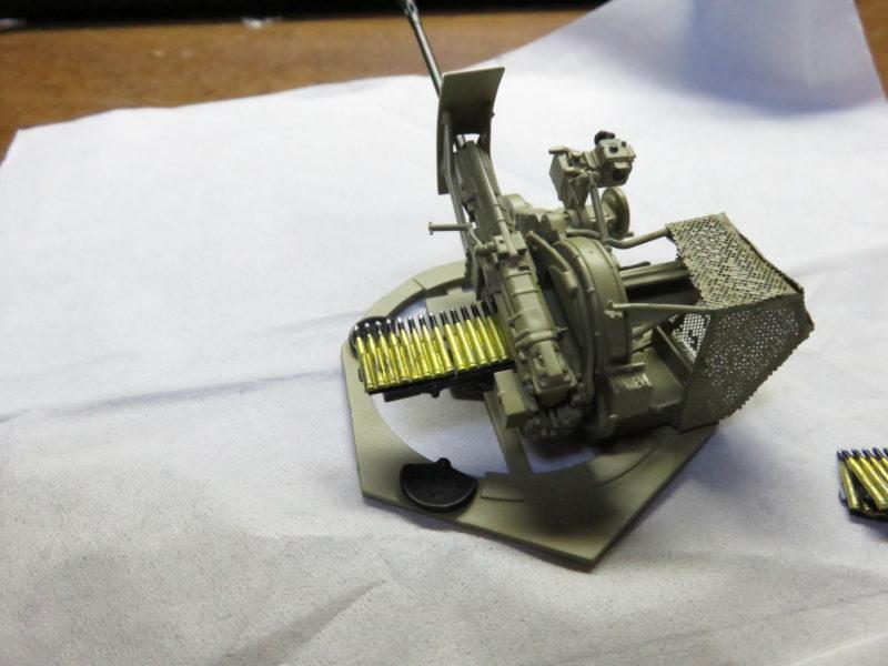 オストヴィント Flak43 基本塗装完了2