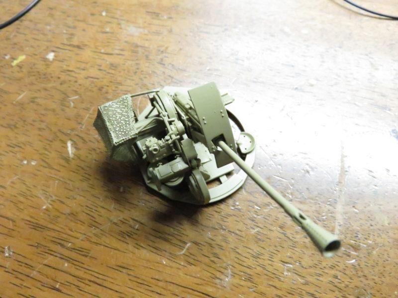 3.7cm Flak43 塗装5