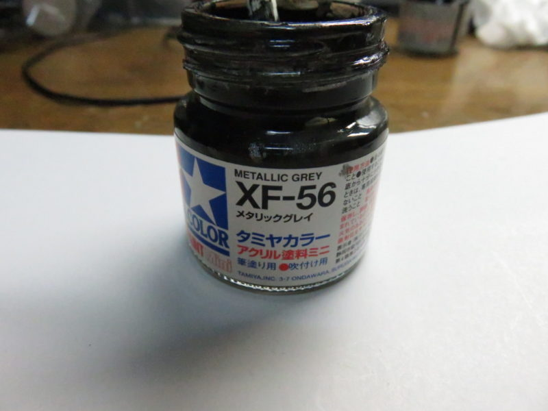 3.7cm Flak43 照準器の塗装2