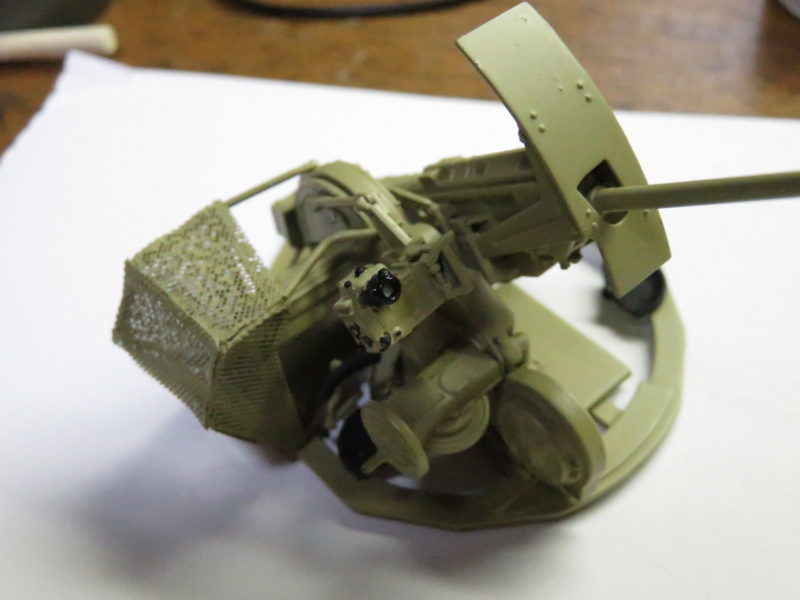 3.7cm Flak43 照準器の塗装4