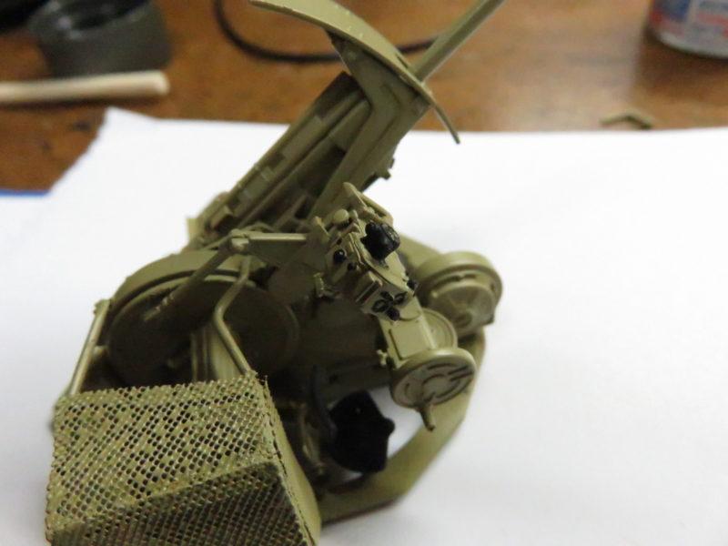 3.7cm Flak43 照準器の塗装