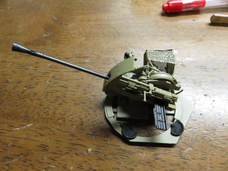3.7cm Flak43 塗装完了2