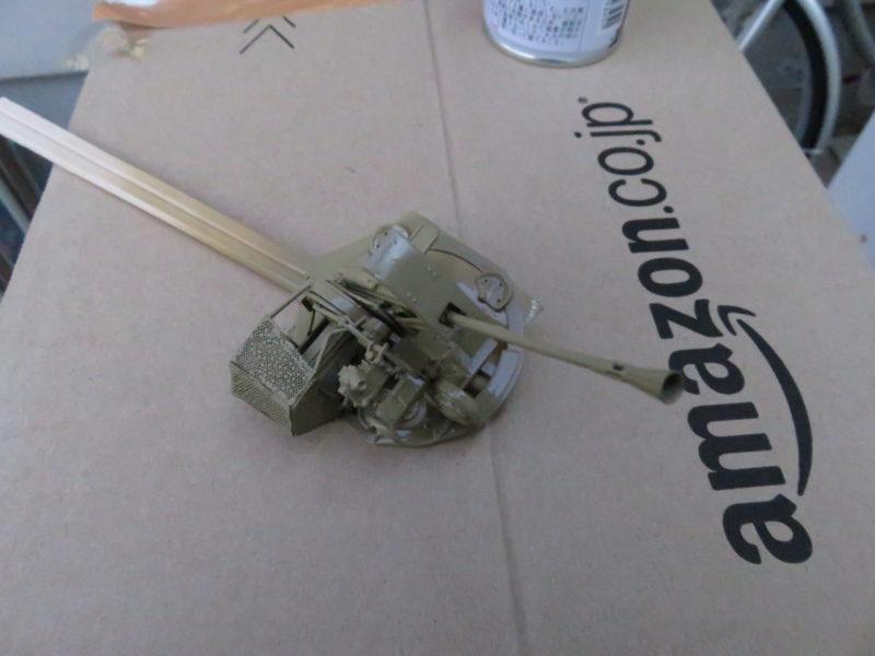 3.7cm Flak43 塗装3