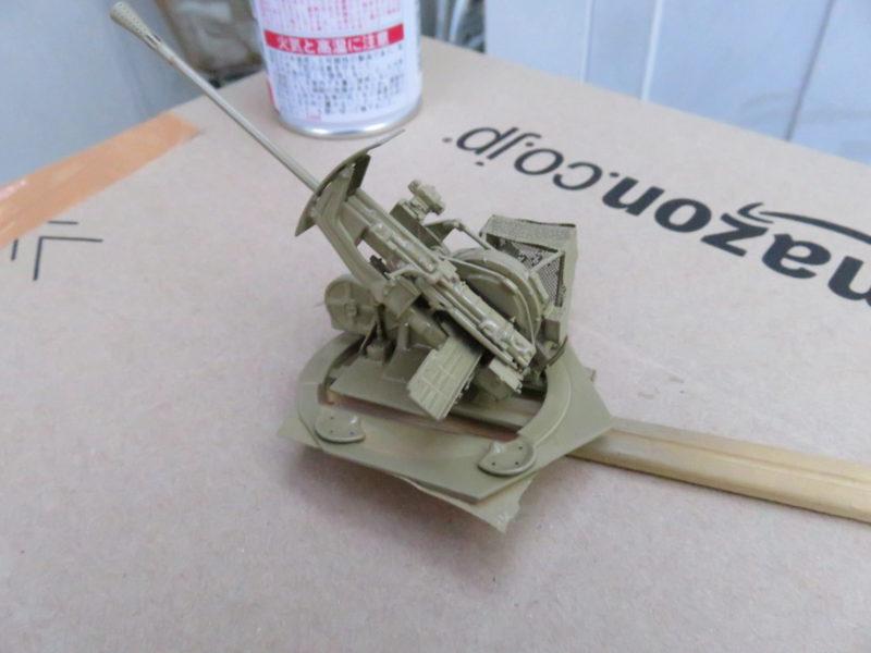 3.7cm Flak43 塗装4