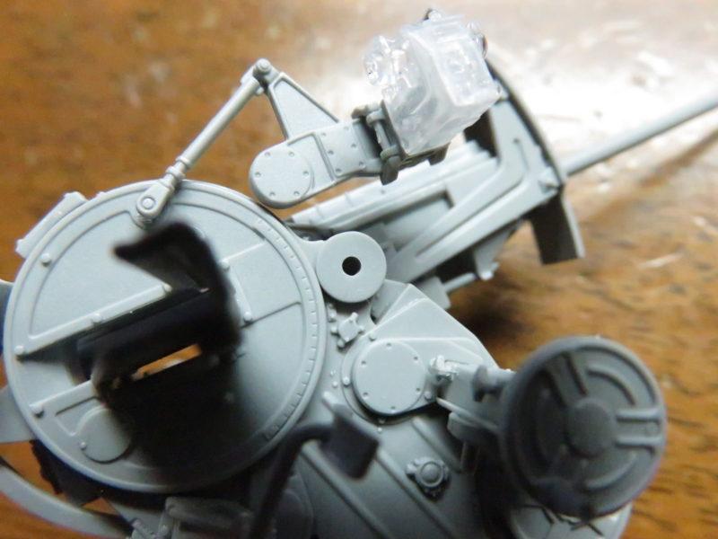 オストヴィント Flak43 照準器の取り付け2