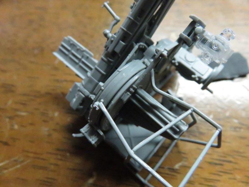 オストヴィント Flak43 排莢ネット骨組み2