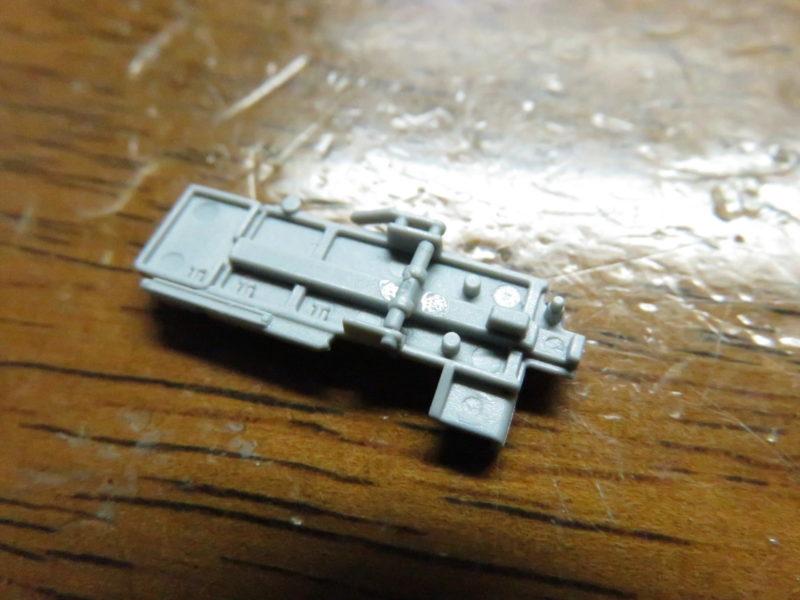 オストヴィント 3.7cm Flak43 給弾トレーの裏側