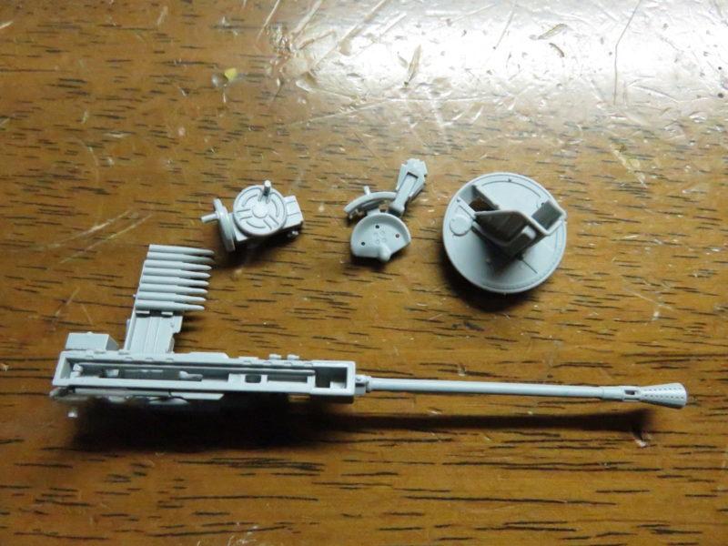 オストヴィント Flak43 途中経過