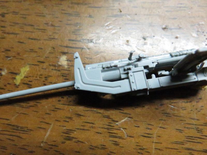 オストヴィント Flak43 防盾組み立て2