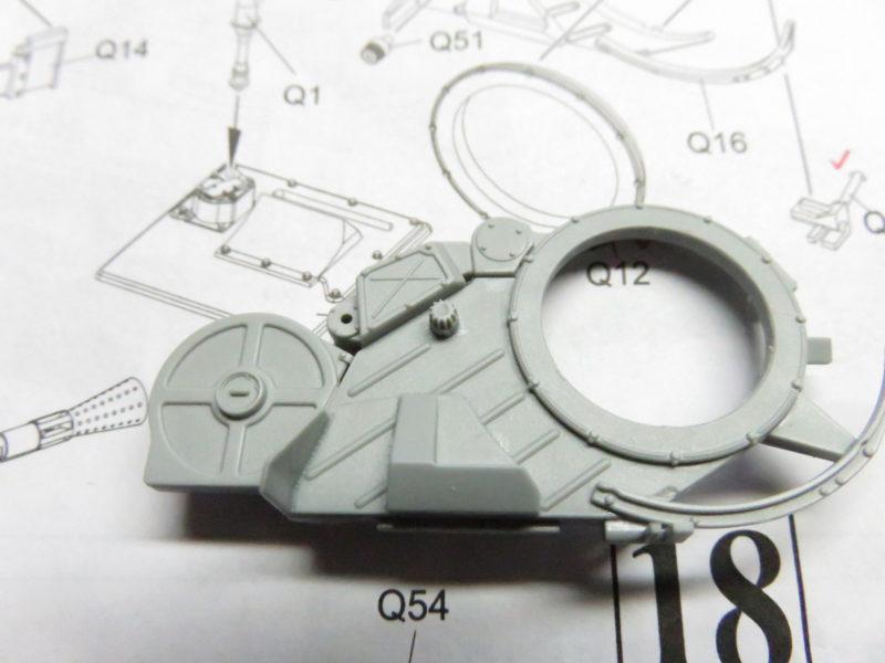 オストヴィント 砲座 組み立て7