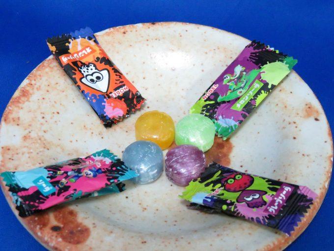 スプラトゥーン キャンディー 種類