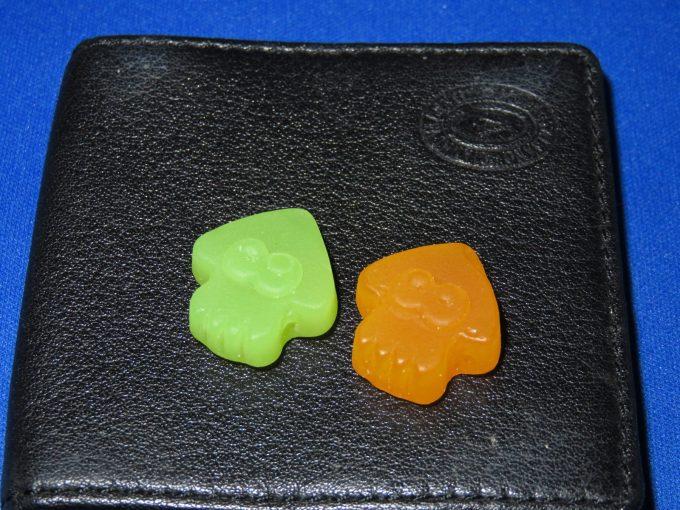 スプラトゥーン グミ 2種類のグミ