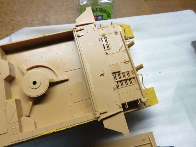 メーベルワーゲン 装甲板の取り付け2