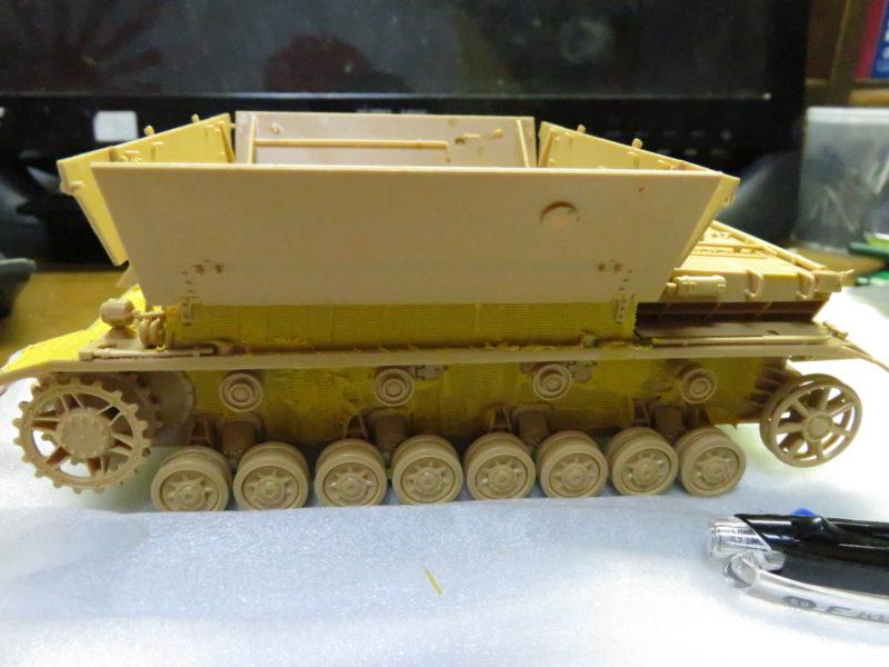 メーベルワーゲン 装甲板の取り付け3