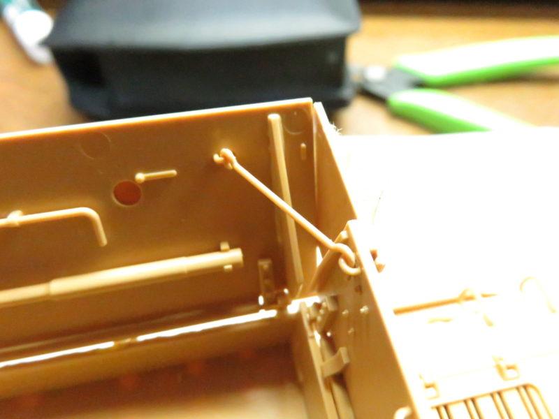 メーベルワーゲン 装甲板の取り付け6