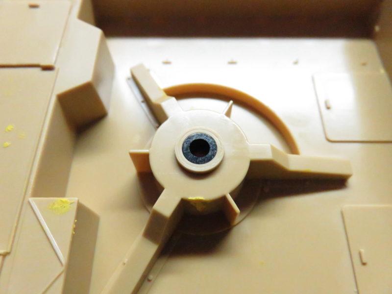 メーベルワーゲン Flak43固定部分