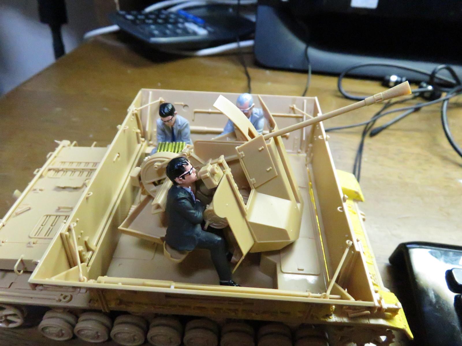 メーベルワーゲン Flak43とサボリーマン搭載2