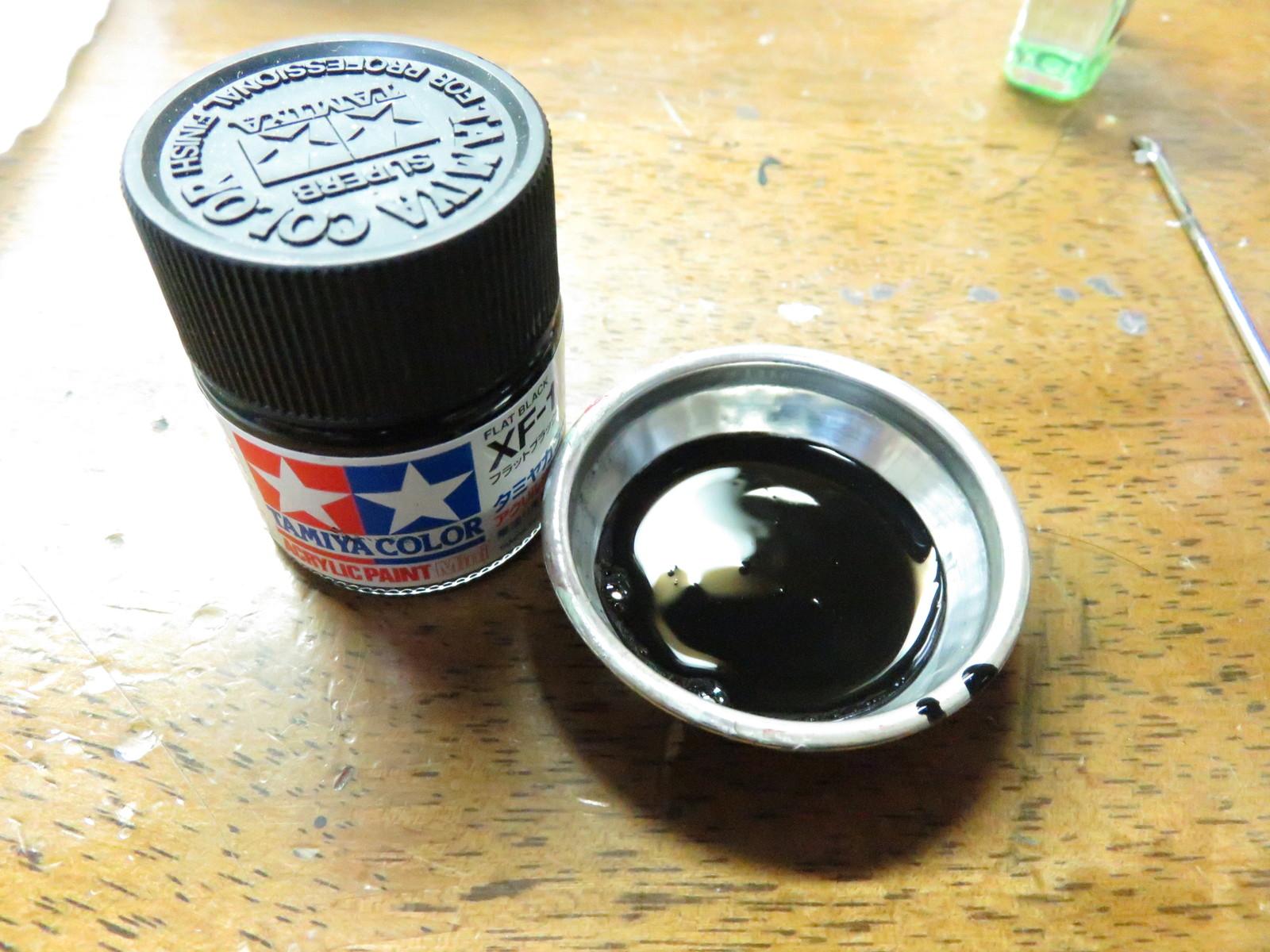 オストヴィント 転輪の塗装