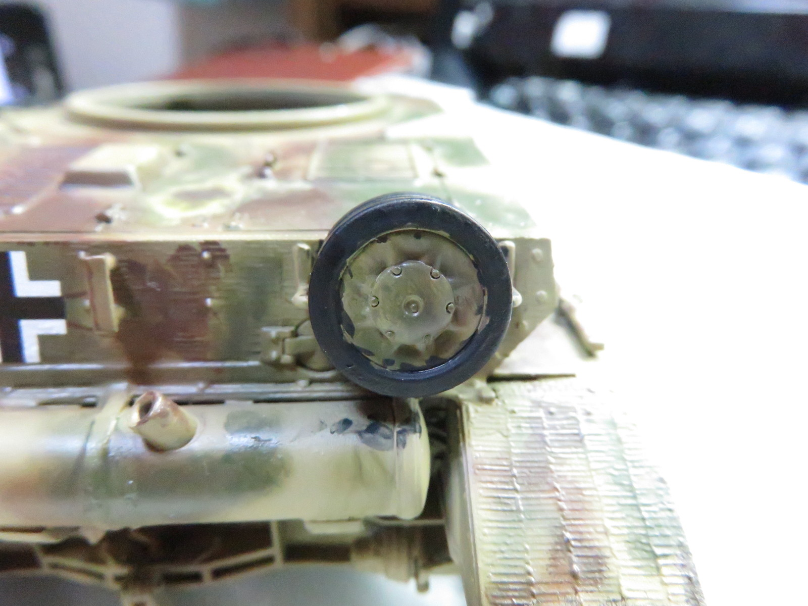 オストヴィント 転輪の塗装5