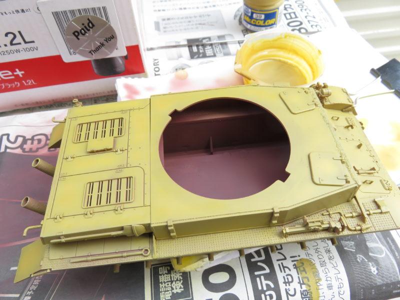 クーゲルブリッツ 車体色塗装2